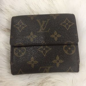 Louis Vuitton snap front coin purse wallet